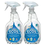 ECOS, Earth Friendly Products Shower Cleaner with Tea Tree Oil 22Ounce, 44 Fl Oz, (Pack of 2)
