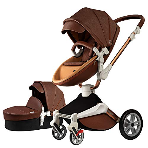 Hot Mom Silla de paseo Reversibilidad rotación multifuncional de 360...