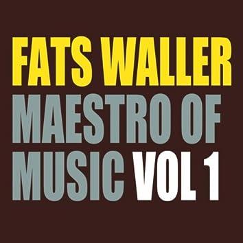 Fats Waller - Maestro of Music Vol 1
