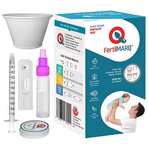 FertilMARQ Fertility Home Sperm Test Kit for Men | Indicates...