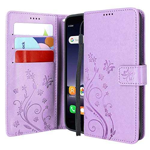 Alcatel TCL A1 Floral Leather Case by Lacass