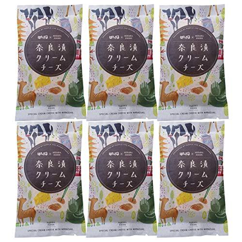 芳醇な香り 奈良漬クリームチーズ 6個セット〔75g×6〕