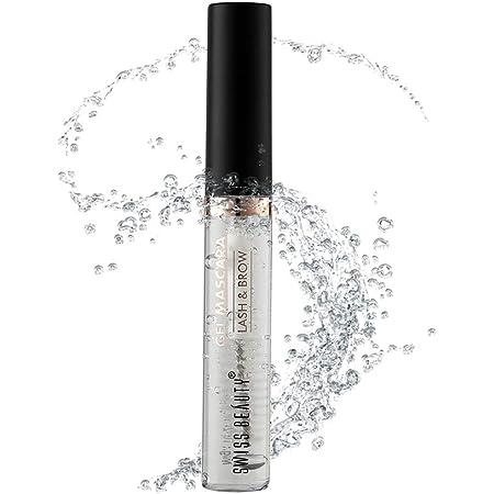 Swiss Beauty gel Mascara Lash & Brow, Eye MakeUp, Eye MakeUp, Shade-01, 9ml