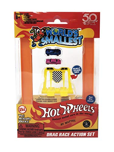 World's Smallest Hot Wheels - Miniature Version of the Classic Toys - Fully...