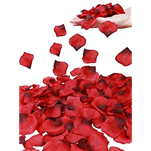 Simplicity 1000 Pcs Separated Non-Woven Rose Petals Wedding,Party Decoration