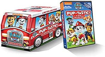 PAW Patrol Pup-Tastic 8-DVD Limited Edition Marshall's Fire Truck