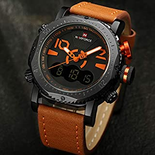 Naviforce Casual Watch For Men Analog Leather - NF9094.1