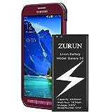 Galaxy S5 Battery ZURUN 3300mAh Li-ion Battery Replacement for Samsung Galaxy S5, Verizon G900V, Sprint G900P, T-Mobile G900T, AT&T G900A, G900F, G900H, G900R4, I9600, Galaxy S5 Active Spare Battery