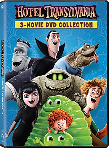 Hotel Transylvania 1/2/3 3 Movie Collection (3 Movie in 2 Disc)