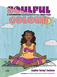 soulful colour black affirmation coloring book