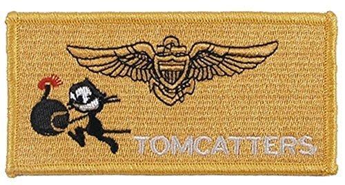 MFH Stickabzeichen VF-31 Tomcatters Aufnäher Truppenabzeichen Stoffabzeichen verschiedene Motive (Motiv 1)
