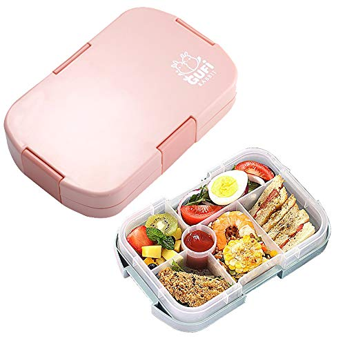 Kids Lunch Box, hombrima Bento Boxes Food Storage Container with 6...