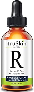 Best TruSkin Retinol Serum for Wrinkles & Fine Lines with Organic Green Tea & Jojoba Oil, 1 fl oz Reviews