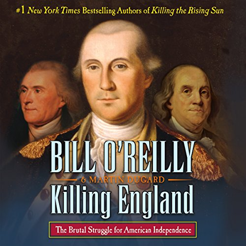 Killing England audiobook cover art