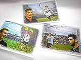 3 supertolle Kunstdrucke mit Leverkusen Stars