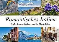 Romantisches Italien - Malcesine am Gardasee und der Monte Baldo (Wandkalender 2022 DIN A2 quer): Impressionen aus Malcesine und vom Gipfel des Monte Baldo (Monatskalender, 14 Seiten )