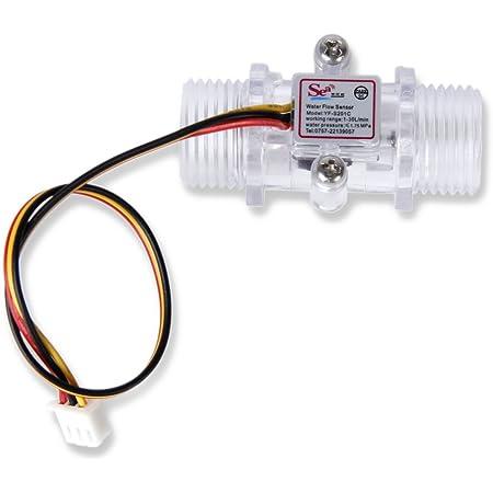 Wasser Durchfluss Hall Sensor Schalter Steuerung Durchflussmesser Meter Zähler