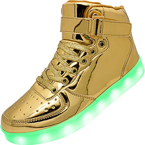 APTESOL Kids Youth LED Light Up Sneakers Boys Girls...