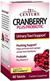 21st Century Cranberry plus Probiotic - 60 Tablets, Pack of 2