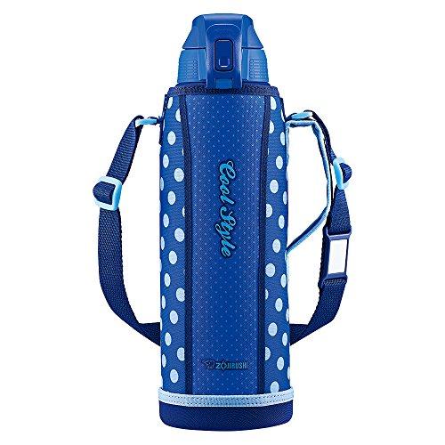 象印 (ZOJIRUSHI) 水筒 直飲み スポーツタイプ ステンレスクールボトル 1.5L ブルードット SD-FA15-AZ