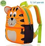 Kindergarten Backpack Kids Toddler Bags Cute Large Tiger Animal...