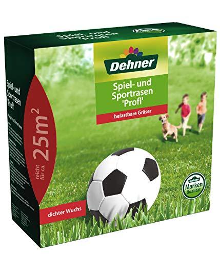 Dehner Rasen-Saatgut, Spiel- und Sportrasen Profi, 0.62 kg, für ca. 25 qm
