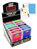 Modiano - Display 12 TLG. Texas Poker 2 Jumbo Index, 3005468 -