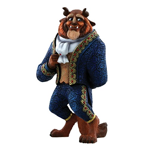 """Disney Showcase, Figura del Príncipe Adam (Bestia) de """"La Bella y la Bestia"""", para coleccionar, Enesco"""
