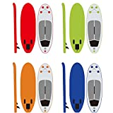 ibigbean Inflatable SUP Board PVC Custom Stand Up Inflatable Paddle Board KS82 for Kids(7'7'' x 28' x 6')(Red)