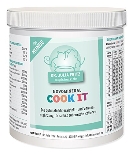 napfcheck Novomineral Cook IT - für die Futterköche - für Hunde - 500 g