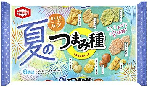 亀田製菓 夏のつまみ種 115g ×12袋