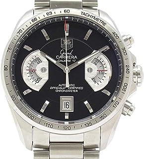 (タグホイヤー)TAG HEUER 腕時計 グランド カレラ クロノグラフ SS CAV511A.BA0902 メンズ 中古