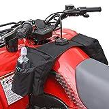 FOLOSAFENAR Bolsa de Almacenamiento de sillín de Motocicleta Hebilla de cinturón Robustez Bolsa de Almacenamiento de sillín de ATV Bolsillos externos aislados, para Motos de Nieve
