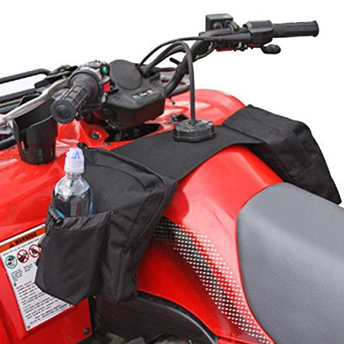 Qqmora Hebilla de cinturón Mano de Obra Fina con Cremallera Impermeable actualizada Bolsa Colgante para Motocicleta ATV Bolsa Colgante, para Motos de Nieve