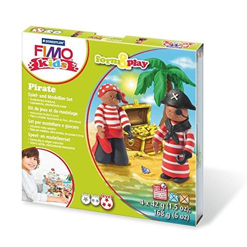 Eberhard Faber NEU Fimo Kids Form&Play Piraten