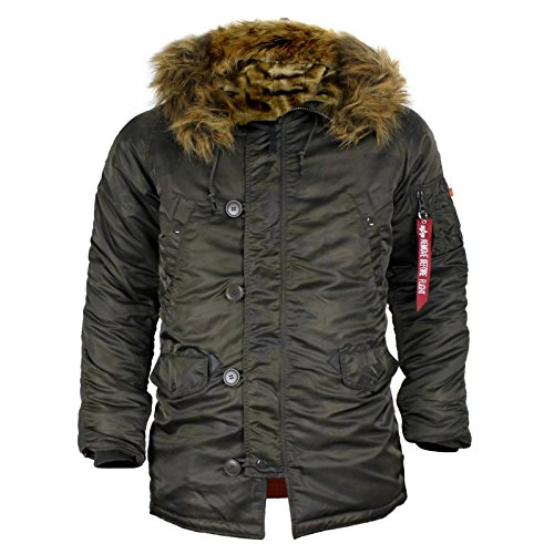 Alpha Industries Parka N3B VF 59 Dark Olive camo