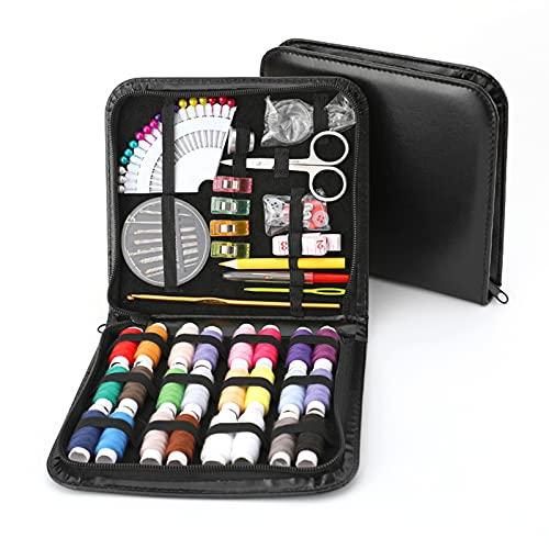 GJG Kit De Costura, Set De Suministros De Costura, con Prima Accesorios De Costura, Portátil Kits De Suministros De Costura, para Principiantes, Viajero, Emergencia, Niños, Bricolaje