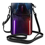 Star War Manda-lorian Darth Revan Phone Purse Women's Crossbody Handbags Lightweight Bags Women Purse Leather Cellphone Holster Wallet Case Shoulder Bags Removable shoulder strap Fashion
