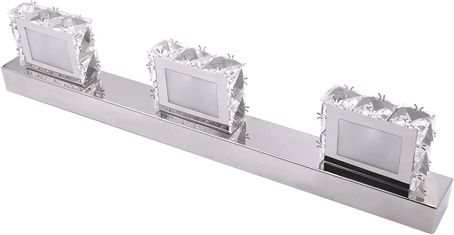 Spasm price HSJWOSA Extraordinarily 6W Popular products Double Bathroom Lamp Surface Crystal