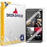DeltaShield Full Body Skin for HTC Desire 816 (2-Pack)(Screen Protector Included) Front and Back Protector BodyArmor Non-Bubble Military-Grade Clear HD Film