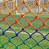 Qianghua Schutznetz Indoor Outdoor, Sicherheitsnetz für Kinder, Trampolin, Haustiere, Pflanzennetz, Fracht, Dekoration Kletternetz, Netz 10x10cm Seilstärke 8mm,1 * 4m(3.3 * 13.2ft)