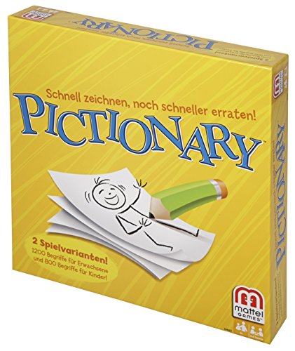 Mattel spel DHH87 - Pictionary