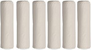 Painters Plastic Drop Cloth 6 Pack, 9x12 Feet, Plastic Tarp Dust Cover, Plastic Covers for Furniture, Plastic Drop Cloth f...