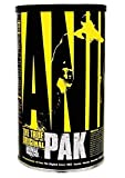 Animal Pak - The Complete All-in-one Training Pack - Multivitamins, Amino Acids, Performance Complex...
