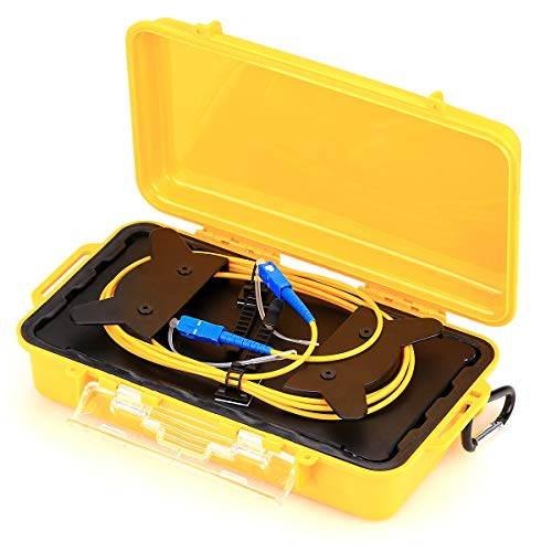 SC/UPC OTDR caja de cable de lanzamiento 1 km cable de extensión modo único OTDR área de prueba de estor 1310/1550 nm