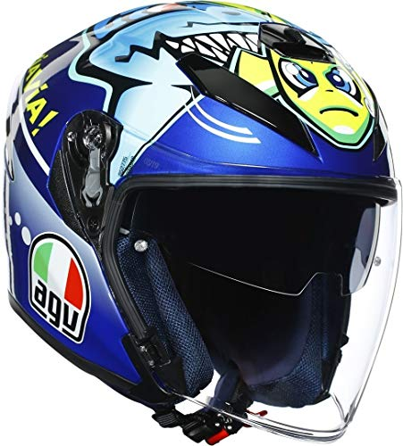Casco K-5 Jet AGV Top – Rojo Misano 2015 XL