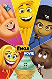 Pyramid International Póster de Star Characters The Emoji Movie Maxi, plástico/Cristal, Multicolor, 61 x 91,5 x 1,3 cm