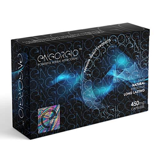 ENGORGIO™ - Pack de 10 cápsulas de 450 mg - Potenciador sexual 100% a base de hierbas