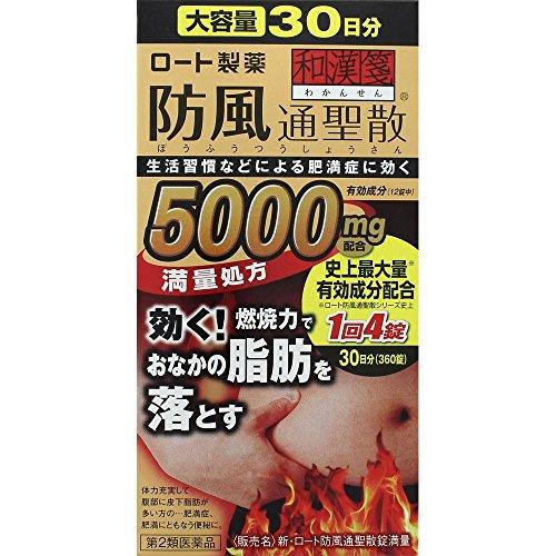 【第2類医薬品】新・ロート防風通聖散錠満量 360錠