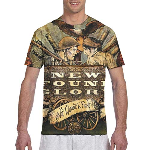 Six23S New Found Glory Herren 3D gedruckte Kurzarm Top T-Shirts